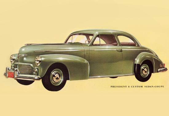 Studebaker President 8 Sedan Coupe 1942 | Vintage Cars 1891-1970