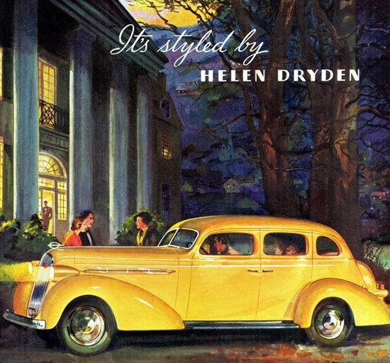 Studebaker President Cruising Sedan 1936 by Helen Dryden | Vintage Cars 1891-1970