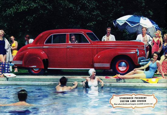 Studebaker President Custom Land Cruiser 1941 | Vintage Cars 1891-1970