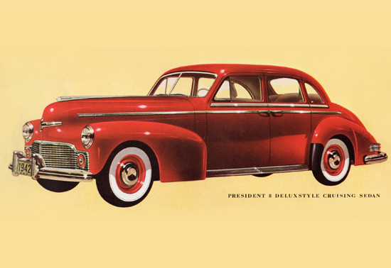 Studebaker President Deluxestyle Cruising 1942 | Vintage Cars 1891-1970