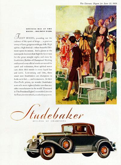 Studebaker President Eight Convertible 1929 | Vintage Cars 1891-1970
