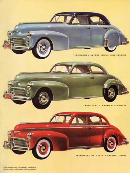 Studebaker President Models 1942 | Vintage Cars 1891-1970
