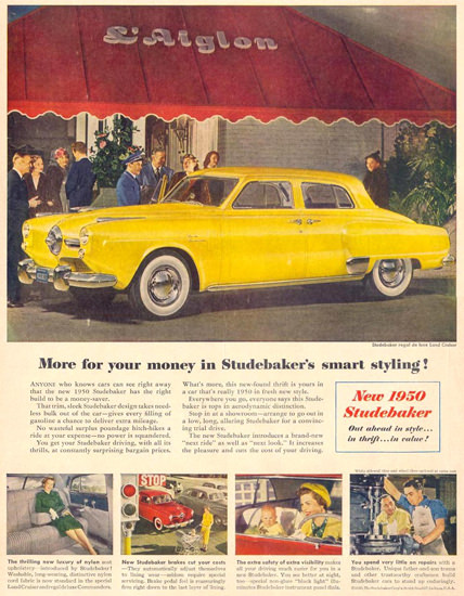 Studebaker Regal De Luxe Land Cruiser 1950 | Vintage Cars 1891-1970