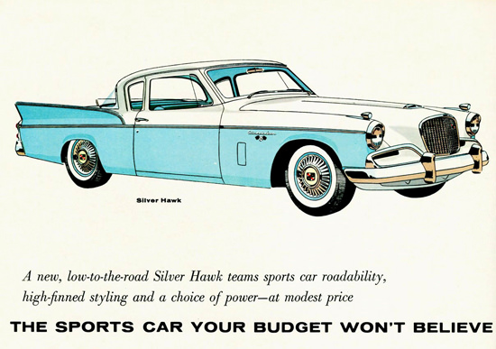Studebaker Silver Hawk 1957 | Vintage Cars 1891-1970