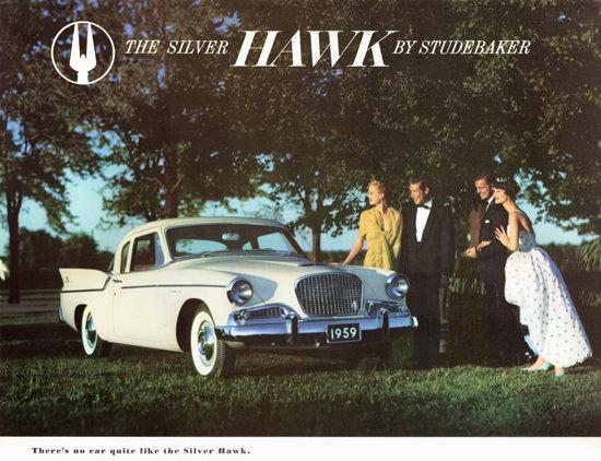 Studebaker Silver Hawk 1959 Quite | Vintage Cars 1891-1970