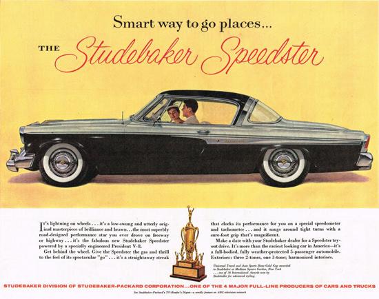 Studebaker Speedster 1955 Black | Vintage Cars 1891-1970