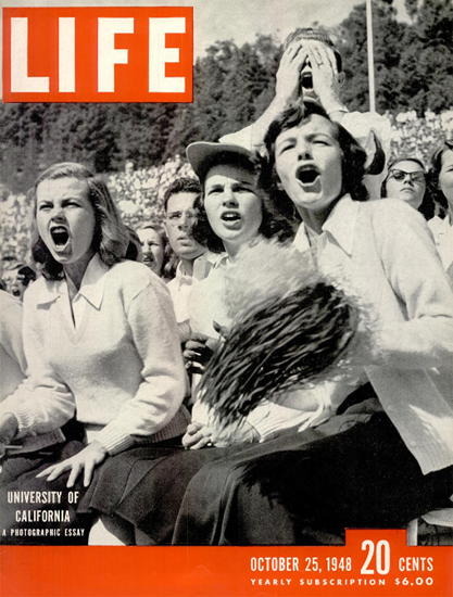 Sue Howell Ginny Jones Pat Harnett 25 Oct 1948 Copyright Life Magazine | Life Magazine BW Photo Covers 1936-1970