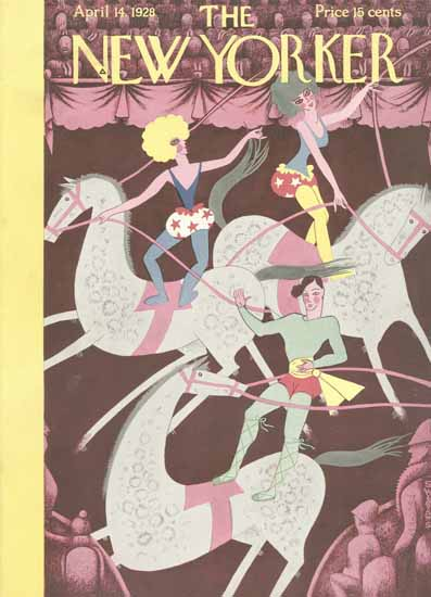 Sue Williams The New Yorker 1928_04_14 Copyright   The New Yorker Graphic Art Covers 1925-1945