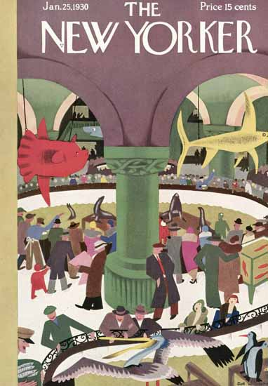 Sue Williams The New Yorker 1930_01_25 Copyright | The New Yorker Graphic Art Covers 1925-1945