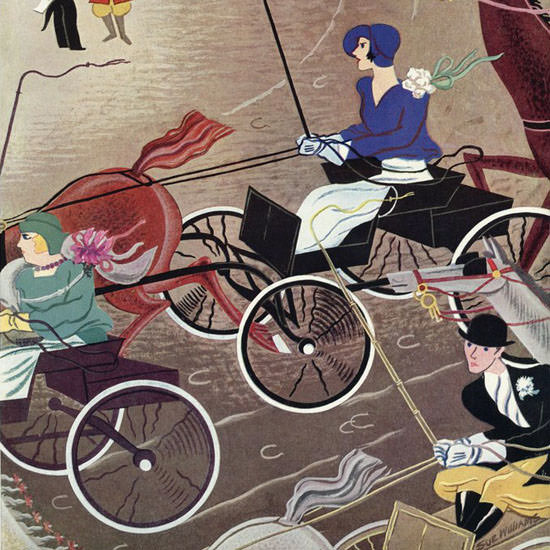 Sue Williams The New Yorker 1930_11_08 Copyright crop | Best of 1930s Ad and Cover Art