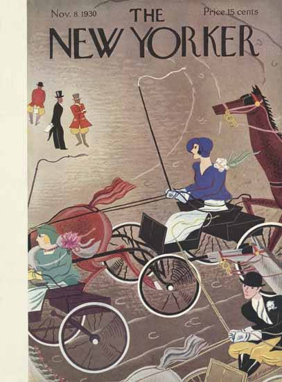 Sue Williams The New Yorker 1930_11_08 Copyright | The New Yorker Graphic Art Covers 1925-1945