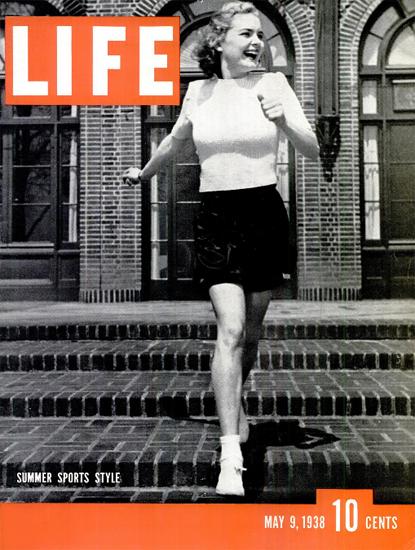 Summer Sports Style 9 May 1938 Copyright Life Magazine | Life Magazine BW Photo Covers 1936-1970