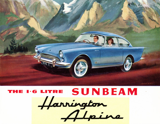 Sunbeam Harrington Alpine 1962 Mountains | Vintage Cars 1891-1970