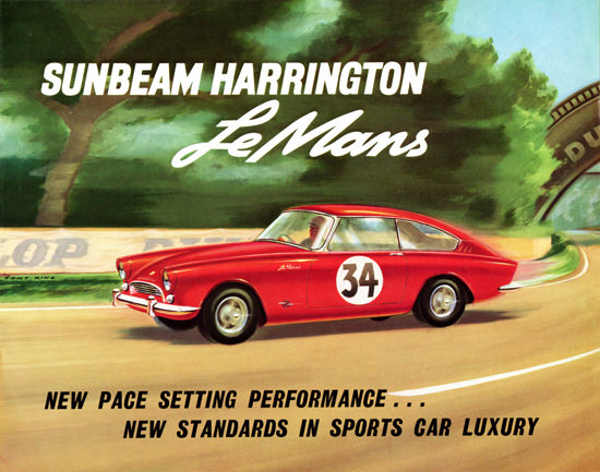 Sunbeam Harrington LeMans 1962 Sports Luxery | Vintage Cars 1891-1970
