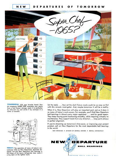 Super Chef 1965 GM New Departure | Vintage Ad and Cover Art 1891-1970
