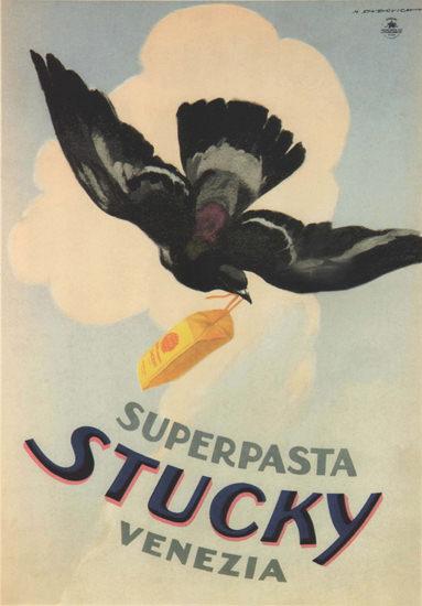 Superpasta Stucky Venezia Italy Italia | Vintage Ad and Cover Art 1891-1970
