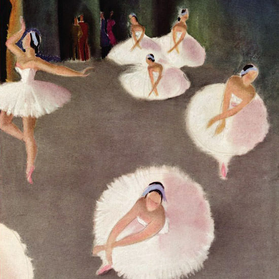 Susanne Suba The New Yorker 1939_10_21 Copyright crop | Best of Vintage Cover Art 1900-1970