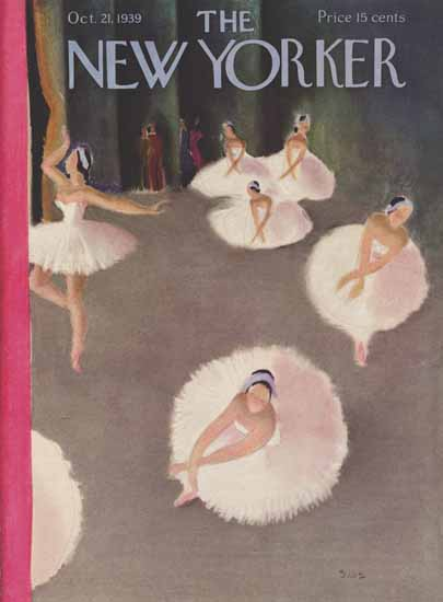 Susanne Suba The New Yorker 1939_10_21 Copyright | The New Yorker Graphic Art Covers 1925-1945
