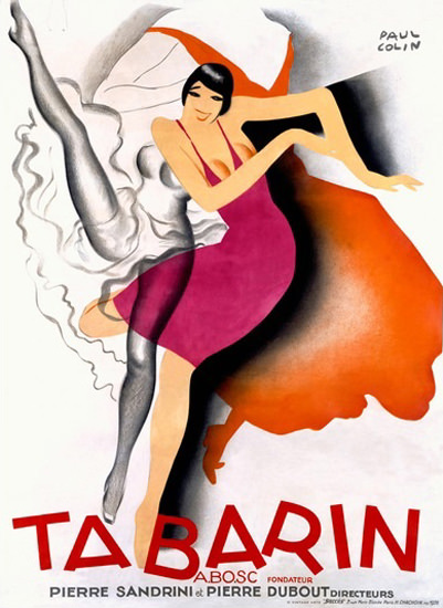 Tabarin Cabaret Dancers Pierre Sandrini | Sex Appeal Vintage Ads and Covers 1891-1970