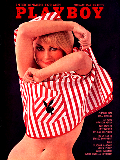 Teddi Smith Playboy Magazine 1965-02 Copyright Sex Appeal | Sex Appeal Vintage Ads and Covers 1891-1970