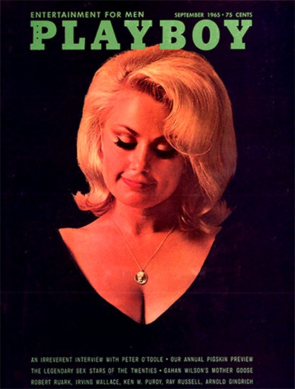 Teddi Smith Playboy Magazine 1965-09 Copyright Sex Appeal | Sex Appeal Vintage Ads and Covers 1891-1970