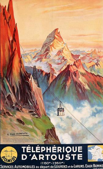 Telepherique D Artouste 1937 | Vintage Travel Posters 1891-1970