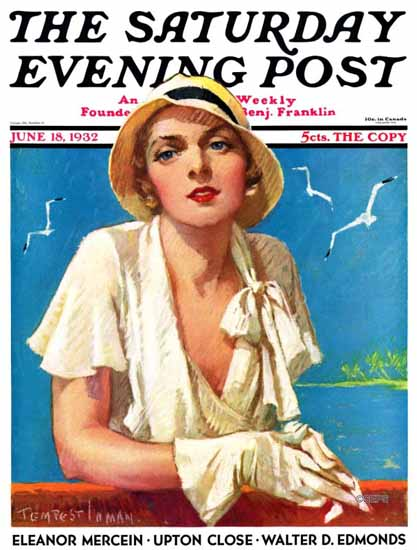 Tempest Inman Saturday Evening Post 1932_06_18 Sex Appeal | Sex Appeal Vintage Ads and Covers 1891-1970