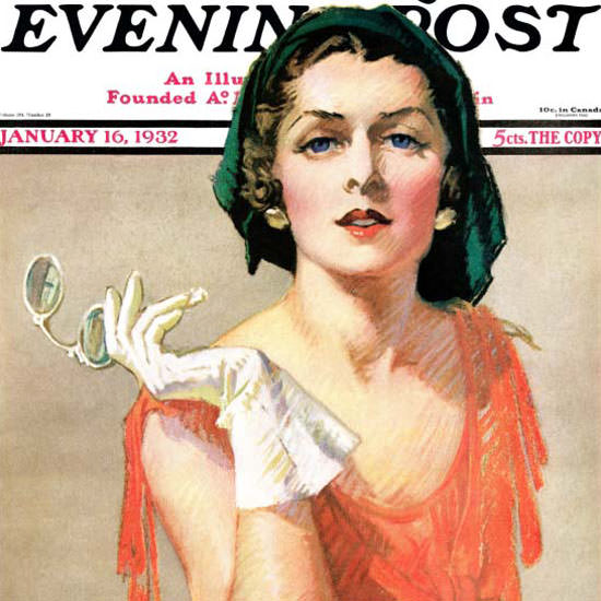 Tempest Inman Saturday Evening Post Pince 1932_01_16 Copyright crop | Best of 1930s Ad and Cover Art