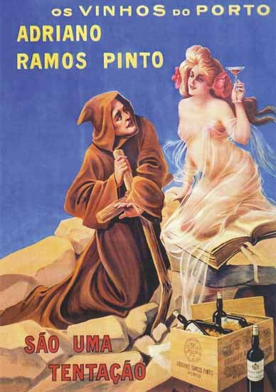 Tentacao Nude Monk Ramos Pinto Porto Sex Appeal | Sex Appeal Vintage Ads and Covers 1891-1970