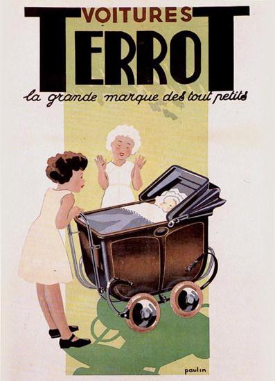 Terrot 1934 La Grande Marque Des Tout Petits | Vintage Ad and Cover Art 1891-1970