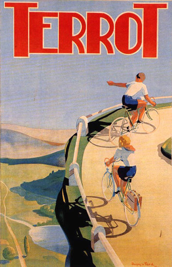 Terrot Cie Dijon Bicycles 1939 J Le Tord | Vintage Travel Posters 1891-1970
