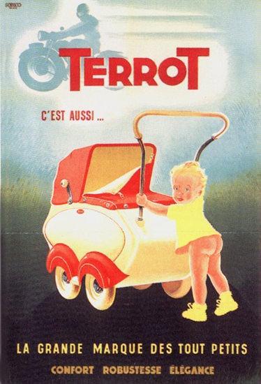 Terrot La Grande Marque Des Tout Petits 1952 | Vintage Ad and Cover Art 1891-1970