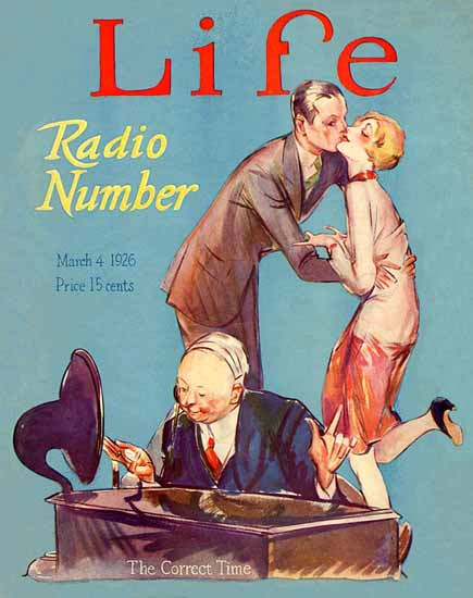 The Correct Time Life Humor Magazine 1926-03-04 Copyright | Life Magazine Graphic Art Covers 1891-1936