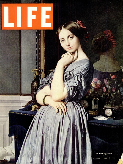 The Frick Collection 27 Dec 1937 Copyright Life Magazine | Life Magazine Color Photo Covers 1937-1970