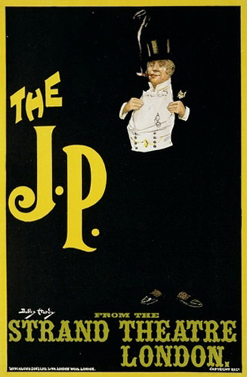The J P Strand Theatre London 1898 | Vintage Ad and Cover Art 1891-1970