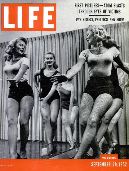 The Jackie Gleason Show 29 Sep 1952 Copyright Life Magazine | Life Magazine BW Photo Covers 1936-1970