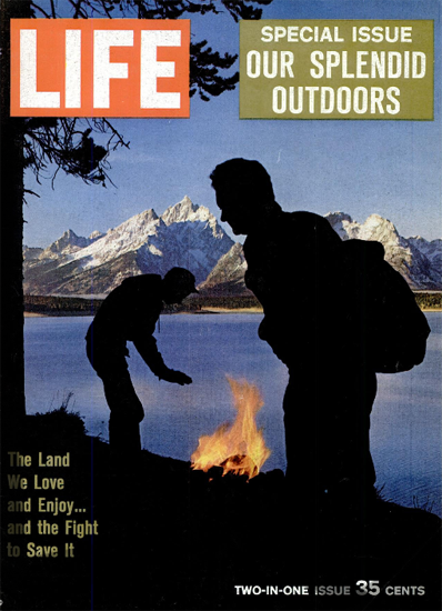 The Land we love the Fight to save 22 Dec 1961 Copyright Life Magazine | Life Magazine Color Photo Covers 1937-1970