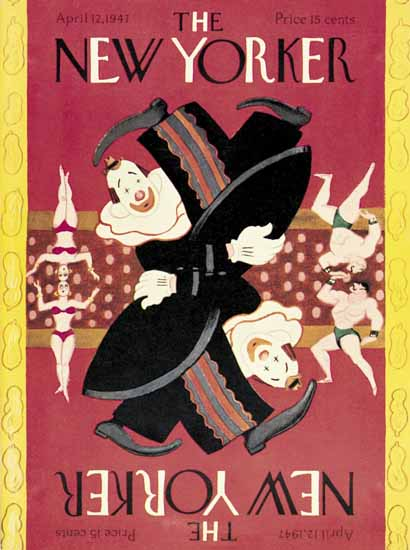 The New Yorker 1947_04_12 Copyright | The New Yorker Graphic Art Covers 1946-1970