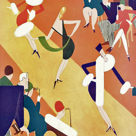 Theodore G Haupt The New Yorker 1927_10_15 Copyright crop | Best of 1920s Ad and Cover Art