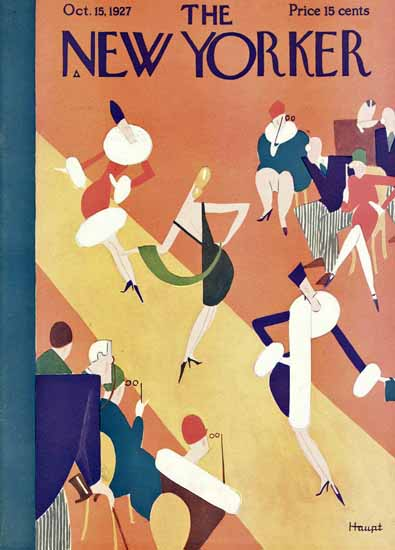 Theodore G Haupt The New Yorker 1927_10_15 Copyright   The New Yorker Graphic Art Covers 1925-1945