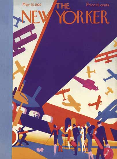 Theodore G Haupt The New Yorker 1929_05_25 Copyright   The New Yorker Graphic Art Covers 1925-1945