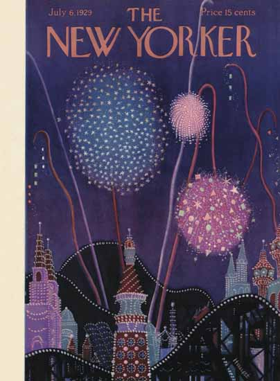 Theodore G Haupt The New Yorker 1929_07_06 Copyright   The New Yorker Graphic Art Covers 1925-1945