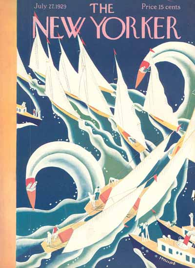 Theodore G Haupt The New Yorker 1929_07_27 Copyright | The New Yorker Graphic Art Covers 1925-1945