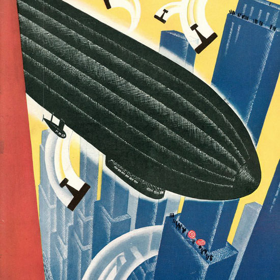 Theodore G Haupt The New Yorker 1930_05_10 Copyright crop   Best of 1930s Ad and Cover Art
