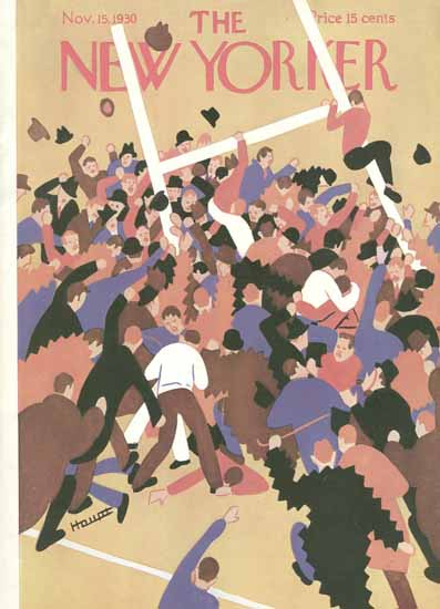 Theodore G Haupt The New Yorker 1930_11_15 Copyright | The New Yorker Graphic Art Covers 1925-1945