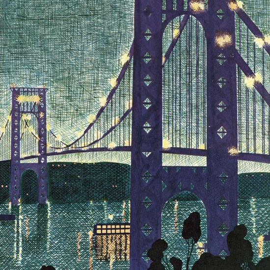 Theodore G Haupt The New Yorker 1931_06_06 Copyright crop | Best of 1930s Ad and Cover Art