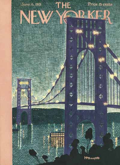 Theodore G Haupt The New Yorker 1931_06_06 Copyright | The New Yorker Graphic Art Covers 1925-1945