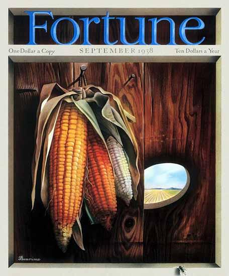 Thomas Benrimo Fortune Magazine September 1938 Copyright   Fortune Magazine Graphic Art Covers 1930-1959