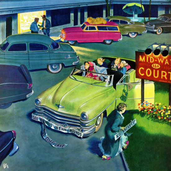 Thornton Utz Saturday Evening Post No 1953_08_29 Copyright crop   Best of Vintage Cover Art 1900-1970