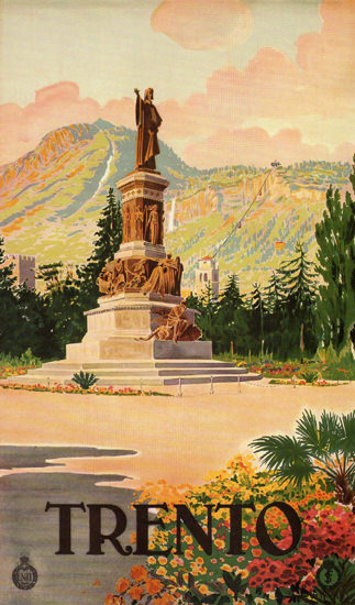 Trento Italy Italia   Vintage Travel Posters 1891-1970